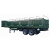 2-axle side wall semi trailer