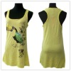 Ladies racer back cotton tank tops