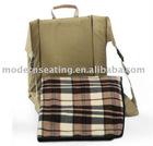 college , outdoor , school , sport , travel economy bag/stadium seat cushion