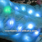 colorful and shining led light up blanket