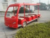 fiberglass car body ( sightseeing bus )