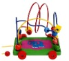 Pull & Push Beads Toy