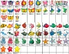 2013 Butterfly Fish dragon Star soft pvc shoes charms soft plastic shoes decorations pins