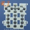 23 key Mobile Phone Metal Dome sheet,click dome array