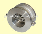 Stainless Casting Dual Plate Check Valve