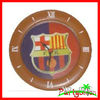 Plastic Wall Clock For Football Fan