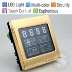 Touch Screen Doorbell System with Room Number for Superior Hotel/LED Backlight/Metal Frame/D.N.D