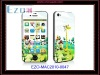 For iphone4 high quality durable color skin sticker