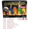 Professional scream tattoo ink kits 15ml 10coulour pack