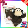 Cute monkey plush mini speaker