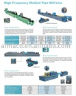 ZG Series High Frequency Welded Pipe Mill Line