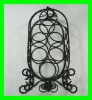 Iron metal wine racks wrought iron clothes rack tree rack wrought iron coat rack