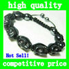Hot Sell Beautiful Crystal Disco Ball Macrame Beaded Shambala Bracelet Gift for friend,kids,girls