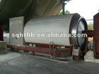 2012 latest pyrolysis machine extract oil from tyre and plastic