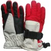 nylon taslon waterproof children ski gloves