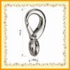 Zinc Alloy Keychain Hook