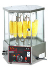 Roast rotary corn machine/Rotary Roast EB-18 wiht tempered glass
