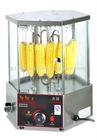 Roast rotary corn machine/Rotary Roast EB-18 wiht tempered glass