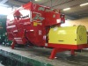 Stationary type feeder mixer wagon