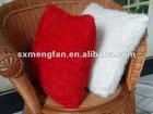 new plain corn flocking fleece sofa/chair/bedding cushions