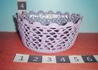 Versatile crochet basket