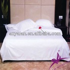 White Hotel Plain Bed Sheet 100% cotton