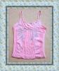 Pink beautiful seamless ladies' lingerie