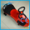 kids wiggle car in red with CE certificate