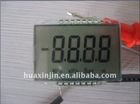numeral 7 segments LCD panel LCD display screen