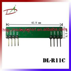 Adjustable bandwidth low voltage RF receiver module