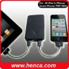 rechargeable External battery charger for ipad,iphone or other smartphone