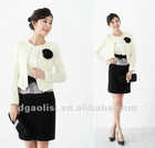 2012 new fashion casual 3-piece woman suit