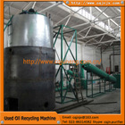 china JNC black engine oil recycling distillation diesel purifier equipment