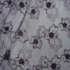 High quality cotton embroidery lace fabric