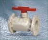 RPP/PPH flanged ball valve
