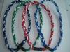 Custom Titanium Rope Necklace Baseball Sport