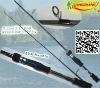 7' graphite spinning fishing rod