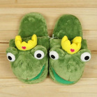 2012 animal indoor slippers fashional winter frog slipper(KN-SL-73)