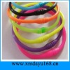 Colorful Rubber Bands Shape Silicone Bracelet