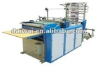 Automatic T-shirt plastic bag making machine DW-BRS Automatically Dual-Purpose Machine for Bag Rolling and Flat Sealing