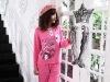 100%Cotton Knitted Girls Pyjamas