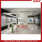high quality glass store mobile phone display showcase