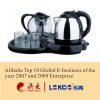 Hot sale Stainless steel kettle set/tea maker LG-106C with CE CB certificate