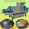 High Quality 304 Stinless Steel 1.5Ton Industrial Ginger Juicer/ New Type Twin Screw Grape Extruder