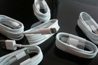 White 8 pin USB 2.0 data transmission cable for iphone5