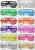 shutter shade sunglasses,glow in dark sunglasses party sunglasses