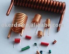 Air coil inductor /spring coils