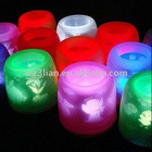 2011 NEW electric projection candle led light toy