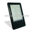 6inch touch screen e-inch e-book reader with wifi