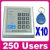 Professional RFID access system